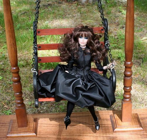 Raquel on her Swing