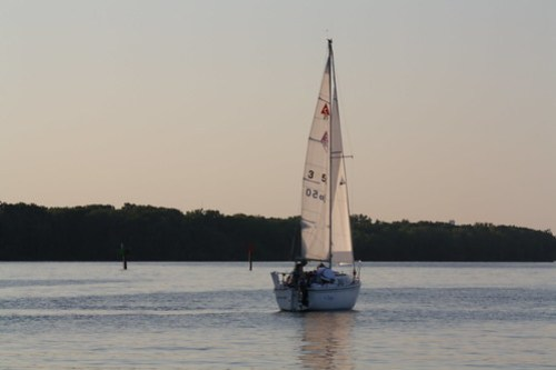 Alexandria to Georgetown - Sailboat