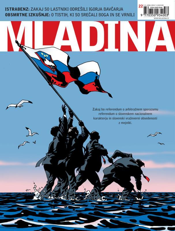 cover page mladina weekly 22/2010