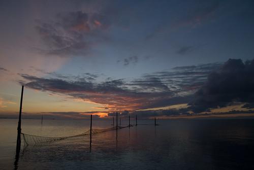 Sunset over Markermeer