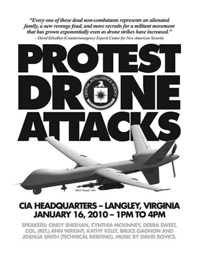 Protest Drone Attacks