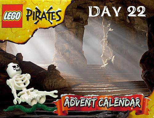 Pirate Advent Calendar Day 22