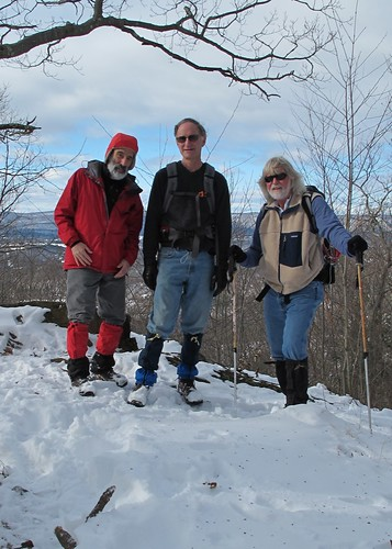 Richard, Loren, and Dave on top of Ten Mile Hill