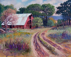 Hill Country Barn - 16x20