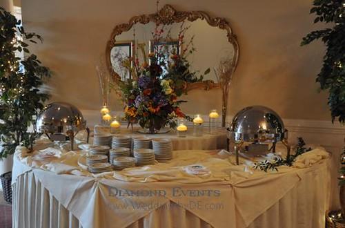 Appetizer Buffet setup