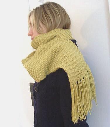 Sunny Winterscarf