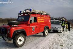 PKW im Rhein bei Eltville 31.01.10