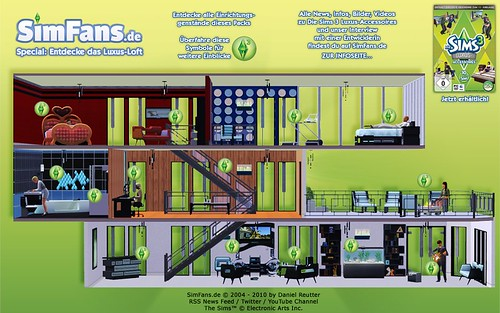 SimFans.de 'High End Loft Stuff' Interactive Special
