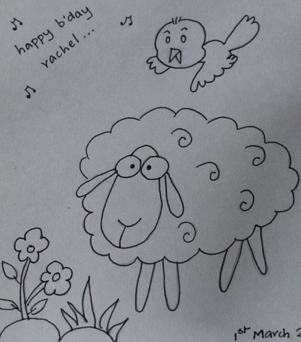 Adorable Sheep from Neha
