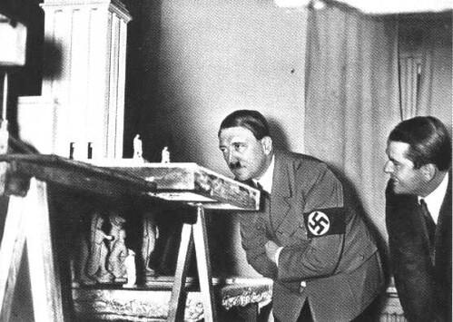 Albert  Speer e  Hitler
