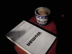 My weekend mid morning's reading with tea