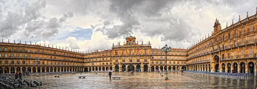 Salamanca Plaza Mayor Panorama