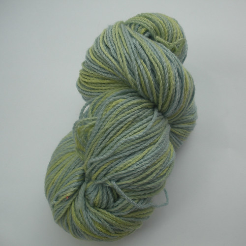 Brooks Farm Yarn Willow blue and green
