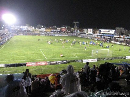 Xela Football Match