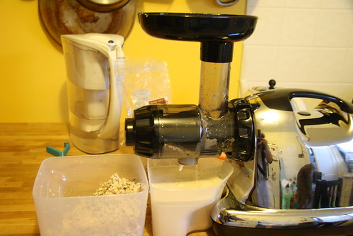 Homemade Almond Milk Slow Juicer : Almond Milk How-To Food Monkey