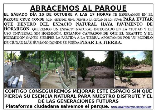 Circuito Parque Cruz Conde Cordoba : Parque cruz conde otra córdoba es posible