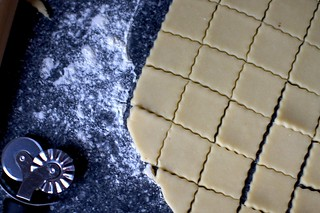 ruffled squares