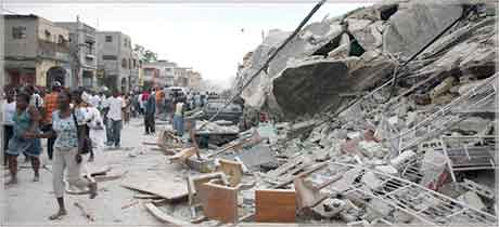 Earthquake from haititourisme.com