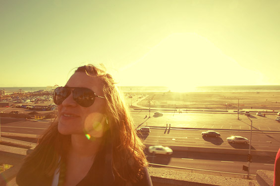 The Sun Sets in California