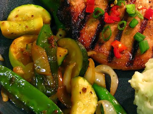 Sauteed Asian Veggies