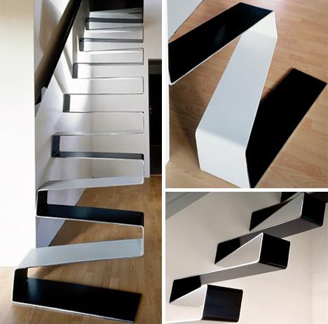 escada em plástico