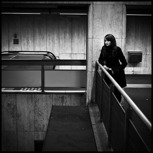 The Metro Girl - Bourse Station