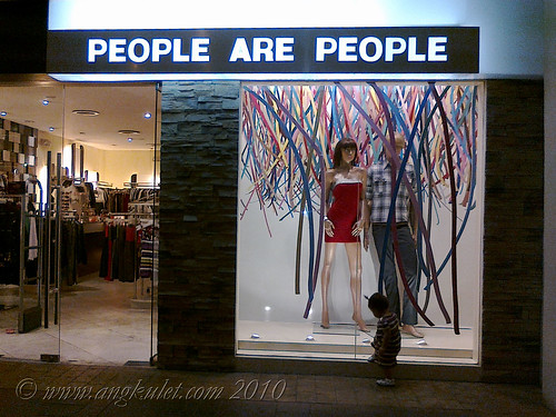 People Are People Store in Eastwood City Walk 2, Libis, Q.C.