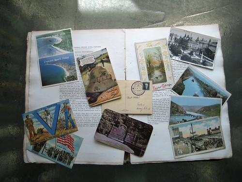 found postcards