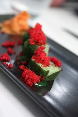 Maki, Green Curry, Root Beer
