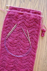 Three needle bind off9