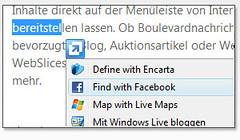 Internet Explorer Accelerators