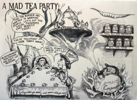 A Mad Tea Party
