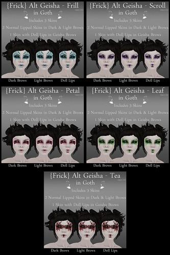 Frick - Alt Geisha - Goth - All