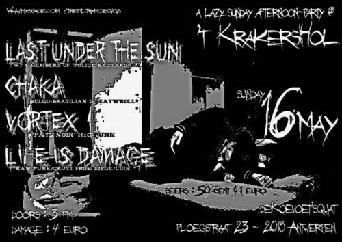 Last Under The Sun 16th May 2010