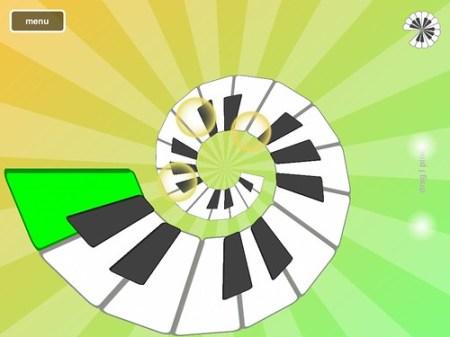 iPadアプリ「Magic Piano」
