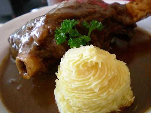 Secret Recipe's Irish lamb shank