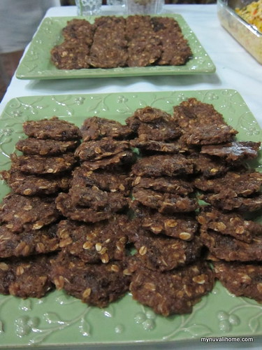 raw food - dehyrated cookies