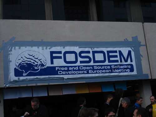 FOSDEM: Main entrance
