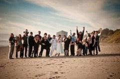 The whole wedding!