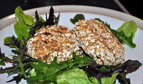 Salmon & Crab Fish Cakes