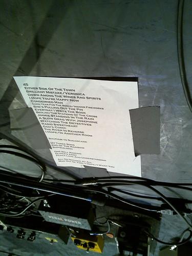 Elvis Costello Setlist