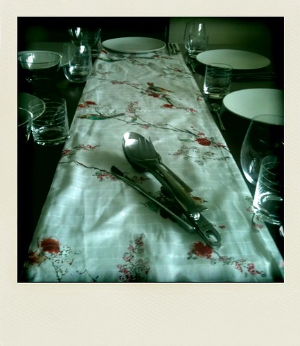8/10. table set.