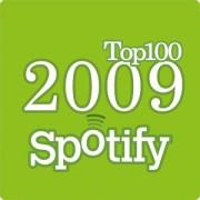 top100 Spotify 2009