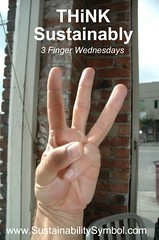 THiNK Sustainably - Three Fingers, balancing S...