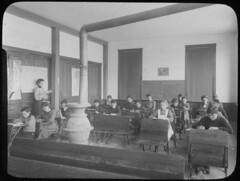 In the classroom, Woodbine School, NJ
