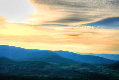 Late Afternoon in the Shenandoah