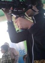 media on my shoulder