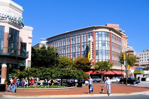 Bethesda Row, Bethesda MD (by: MV Jantzen, creative commons license)