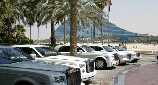 Rolls-Royce abandonados
