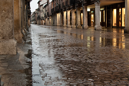 Durante la lluvia